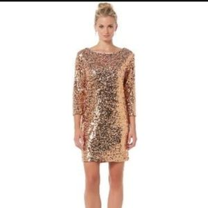Sequin party dress NWT